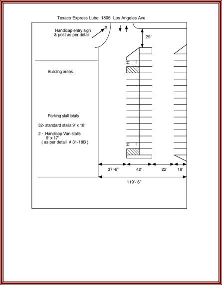 Parking Lot Template. printable accident sketch parking lot ...